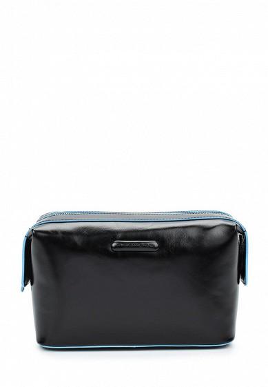 Купить Косметичка Piquadro BLUE SQUARE черный PI016BMSKS31 Индия