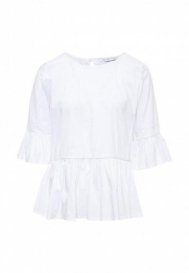 Блуза Piazza Italia белый PI022EWSVN76 Италия  - купить со скидкой