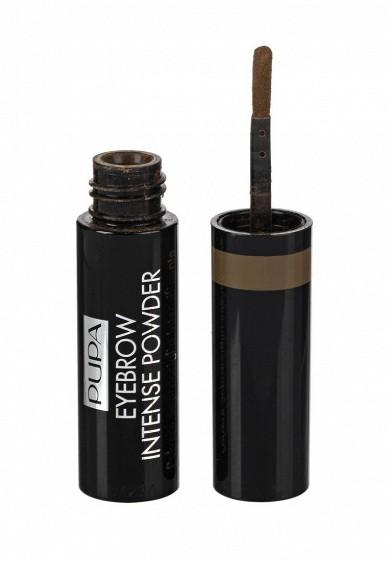 Купить Тени для бровей Pupa EYEBROW INTENSE POWDER, тон 001 Светлый коричневый PU006LWYWW64 Германия