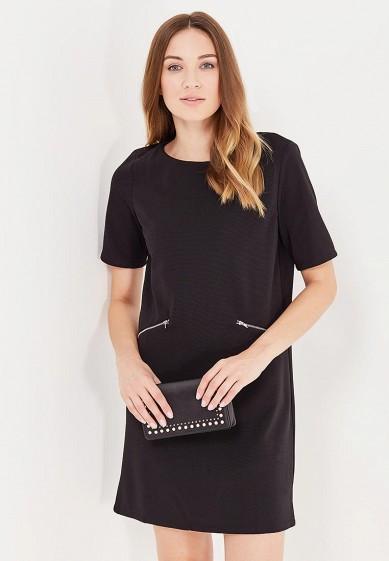 Платье QED London черный QE001EWLXX31 Китай  - купить со скидкой