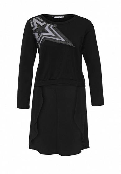 Блуза Rinascimento черный RI005EWKHA36 Италия  - купить со скидкой