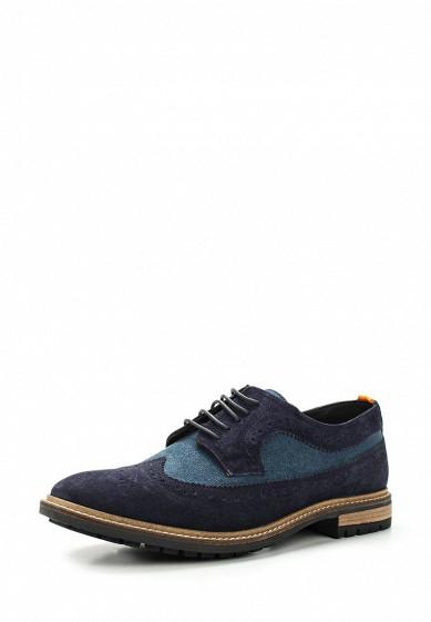 Купить Туфли Superdry WINTER BRAD BROGUE SHOE синий SU789AMVCD86 Индия