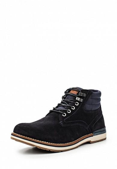 Ботинки Tommy Hilfiger синий TO263AMKGP36 Вьетнам  - купить со скидкой