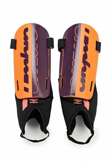 Купить Щитки Umbro VELOCE GUARD W/DET SOCK оранжевый UM463DUYGJ34 Индия