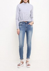 Джинсы LOST INKHIGH WAIST SKINNY IN WISTERIA WASH