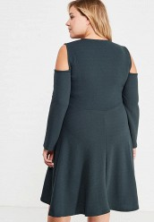 Платье LOST INK PLUSFIT & FLARE DRESS WITH COLD SHOULDER