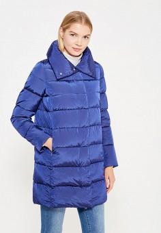 Пуховик, Add, цвет: синий. Артикул: AD504EWTCZ43. Женская одежда / Верхняя одежда / Пуховики и зимние куртки