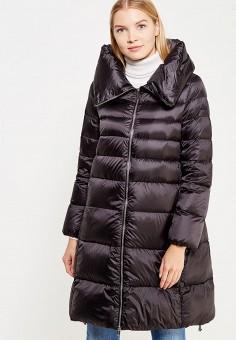 Пуховик, Add, цвет: черный. Артикул: AD504EWTCZ50. Премиум / Одежда / Верхняя одежда / Пуховики и зимние куртки