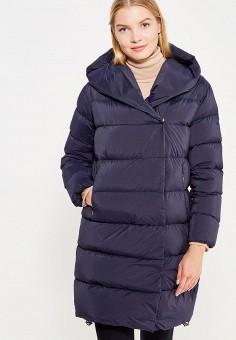 Пуховик, Add, цвет: синий. Артикул: AD504EWTCZ66. Женская одежда / Верхняя одежда / Пуховики и зимние куртки