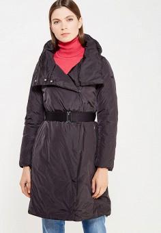 Пуховик, Add, цвет: черный. Артикул: AD504EWTCZ84. Премиум / Одежда / Верхняя одежда / Пуховики и зимние куртки