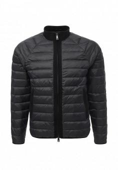Пуховик, Armani Jeans, цвет: черный. Артикул: AR411EMTXV85. Премиум / Одежда / Верхняя одежда / Пуховики