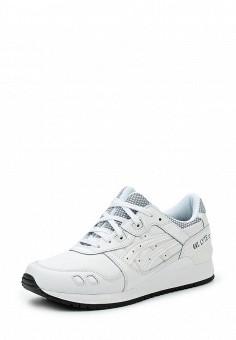 Кроссовки, ASICSTiger, цвет: белый. Артикул: AS009AUUMH44. Женская обувь / Кроссовки и кеды