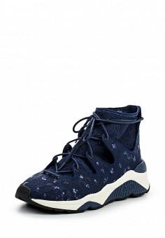 Кроссовки, Ash, цвет: синий. Артикул: AS069AWQQY64. Премиум / Обувь / Кроссовки и кеды