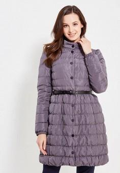 Пуховик, Baon, цвет: серый. Артикул: BA007EWWAQ72. Женская одежда / Верхняя одежда / Пуховики и зимние куртки