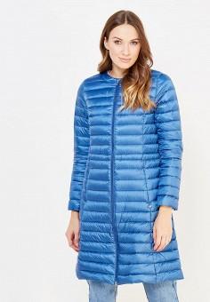 Пуховик, Baon, цвет: синий. Артикул: BA007EWWAR16. Женская одежда / Верхняя одежда / Пуховики и зимние куртки