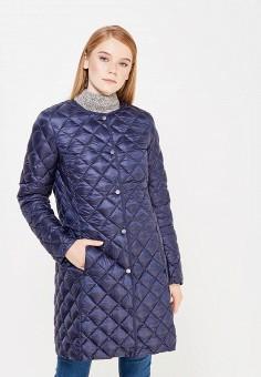 Пуховик, Baon, цвет: синий. Артикул: BA007EWWAR22. Женская одежда / Верхняя одежда / Пуховики и зимние куртки