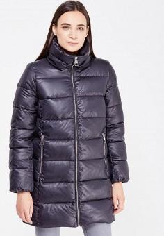Пуховик, Baon, цвет: черный. Артикул: BA007EWWAR30. Женская одежда / Верхняя одежда / Пуховики и зимние куртки