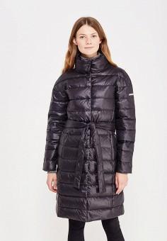 Пуховик, Baon, цвет: черный. Артикул: BA007EWWAR31. Женская одежда / Верхняя одежда / Пуховики и зимние куртки