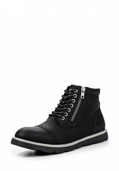 Ботинки, Bata, цвет: черный. Артикул: BA060AMQEF11. Мужская обувь / Ботинки и сапоги
