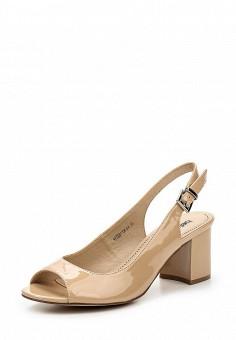 Босоножки, Betsy, цвет: бежевый. Артикул: BE006AWQBV06. Женская обувь
