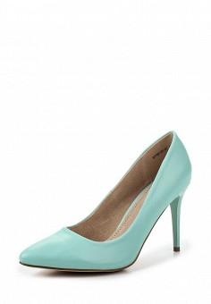 Туфли, Betsy, цвет: бирюзовый. Артикул: BE006AWQCC38. Женская обувь