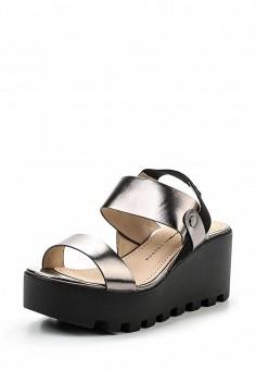Босоножки, Betsy, цвет: серебряный. Артикул: BE006AWQCC80. Женская обувь