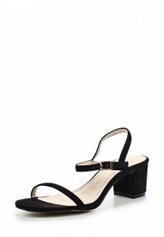 Босоножки, Betsy, цвет: черный. Артикул: BE006AWREK35. Женская обувь
