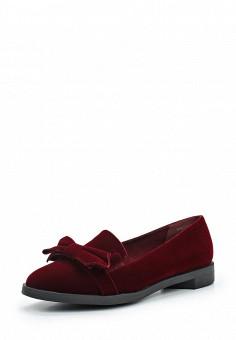 Лоферы, Betsy, цвет: бордовый. Артикул: BE006AWUDW38. Женская обувь