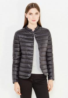 Пуховик, Befree, цвет: черный. Артикул: BE031EWUXN89. Женская одежда / Верхняя одежда / Пуховики и зимние куртки