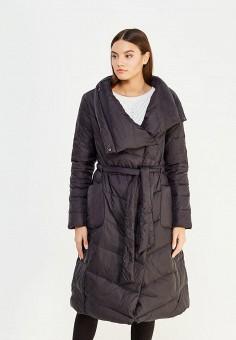 Пуховик, Befree, цвет: черный. Артикул: BE031EWUXT12. Женская одежда / Верхняя одежда / Пуховики и зимние куртки