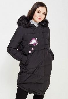Пуховик, Befree, цвет: черный. Артикул: BE031EWYLT75. Женская одежда / Верхняя одежда / Пуховики и зимние куртки / Длинные пуховики и куртки
