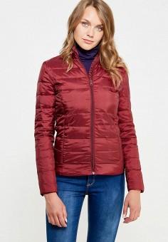 Пуховик, Bestia, цвет: бордовый. Артикул: BE032EWWMZ56. Женская одежда / Верхняя одежда / Пуховики и зимние куртки