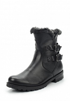 Полусапоги, Bekerandmiller, цвет: черный. Артикул: BE054AWVSK42. Женская обувь / Сапоги