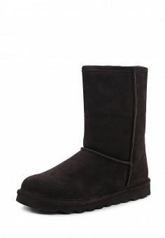 Полусапоги, Bearpaw, цвет: коричневый. Артикул: BE223AWYBR42. Женская обувь / Сапоги