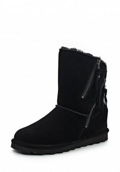 Полусапоги, Bearpaw, цвет: черный. Артикул: BE223AWYBR60. Женская обувь / Сапоги