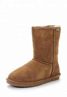 Полусапоги, Bearpaw, цвет: коричневый. Артикул: BE223AWYBR67. Женская обувь / Сапоги