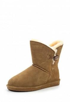 Полусапоги, Bearpaw, цвет: коричневый. Артикул: BE223AWYBR70. Женская обувь / Сапоги