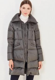 Пуховик, Blauer, цвет: зеленый. Артикул: BL654EWVFB60. Премиум / Одежда / Верхняя одежда / Пуховики и зимние куртки