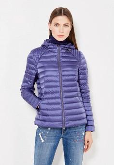 Пуховик, Bosideng, цвет: синий. Артикул: BO026EWVBC57. Женская одежда / Верхняя одежда / Пуховики и зимние куртки