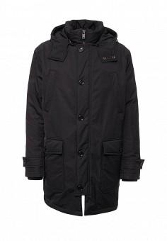 Пуховик, Boss Hugo Boss, цвет: черный. Артикул: BO246EMTPT48. Премиум / Одежда / Верхняя одежда / Пуховики