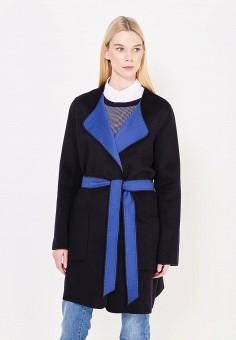 Пальто, Boss Orange, цвет: синий, черный. Артикул: BO456EWTQF44. Премиум / Одежда / Верхняя одежда