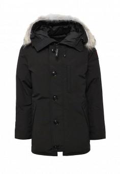 Пуховик, Canada Goose, цвет: черный. Артикул: CA997EMVBM31. Мужская одежда / Верхняя одежда
