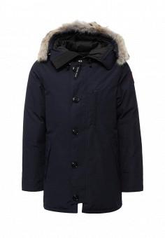 Пуховик, Canada Goose, цвет: синий. Артикул: CA997EMVBM33. Мужская одежда / Верхняя одежда