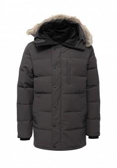Пуховик, Canada Goose, цвет: серый. Артикул: CA997EMVBM37. Мужская одежда / Верхняя одежда