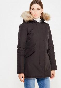 Пуховик, Canadian, цвет: черный. Артикул: CA998EWTCE16. Премиум / Одежда / Верхняя одежда / Пуховики и зимние куртки