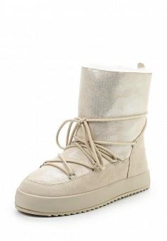Полусапоги, Covani, цвет: бежевый. Артикул: CO012AWWOX82. Женская обувь / Сапоги