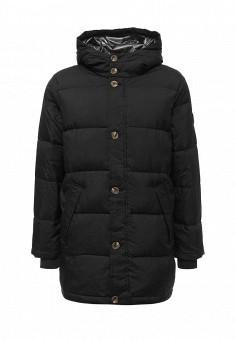 Пуховик, EA7, цвет: черный. Артикул: EA002EMUEE70. Мужская одежда / Верхняя одежда / Пуховики и зимние куртки