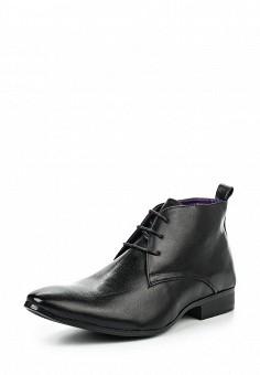 Ботинки, Elong, цвет: черный. Артикул: EL025AWGKA96. Мужская обувь / Ботинки и сапоги