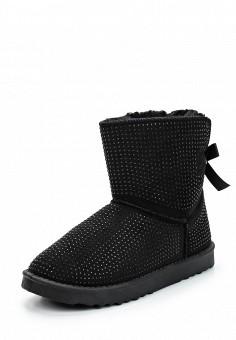 Полусапоги, Enjoin', цвет: черный. Артикул: EN009AWUQW09. Женская обувь / Сапоги