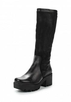 Сапоги, Simen, цвет: черный. Артикул: ER946AWUZN29. Женская обувь / Сапоги / Сапоги